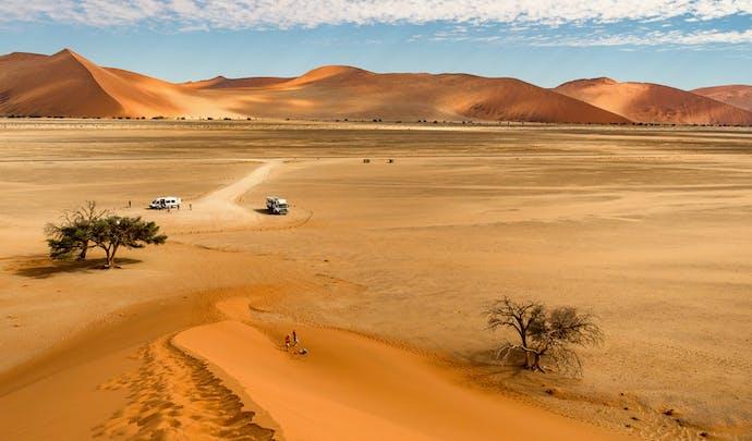 Luxury holidays to Namibia