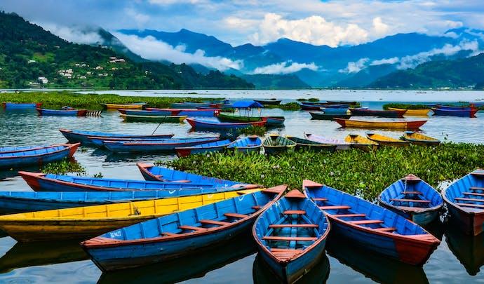 Phewa Lake in Nepal
