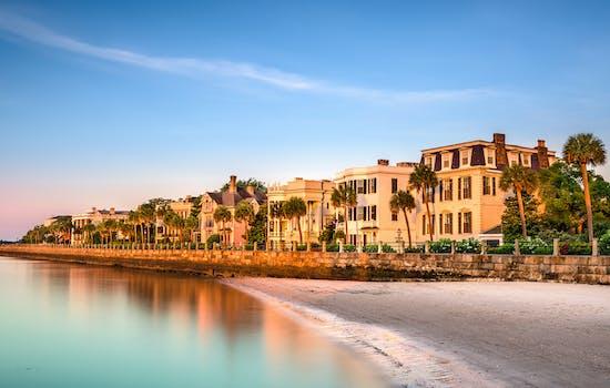 Charleston coastline