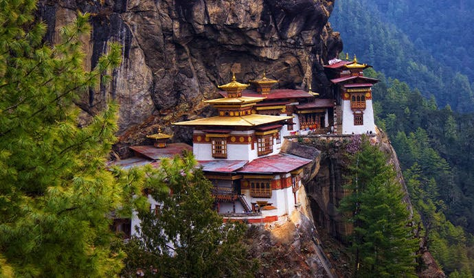 Where to go in October: luxury Bhutan holiday