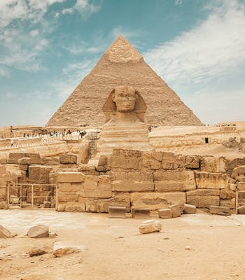 Luxury holiday in October: Egypt