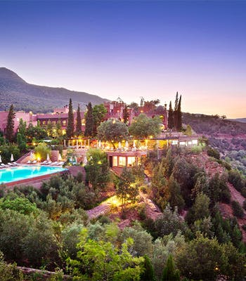 Luxury holiday in October: Morocco