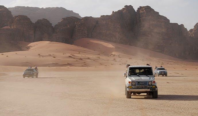 Where to go on vacation in May: Jordan