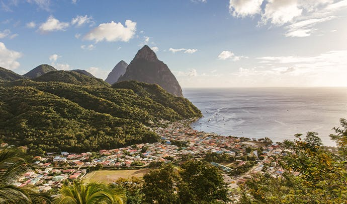 Where to go on holiday in January: St Lucia