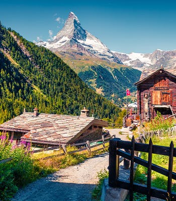 Luxury holiday in September: Switzerland and Italy