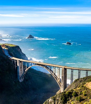 Luxury holiday in September: California in USA