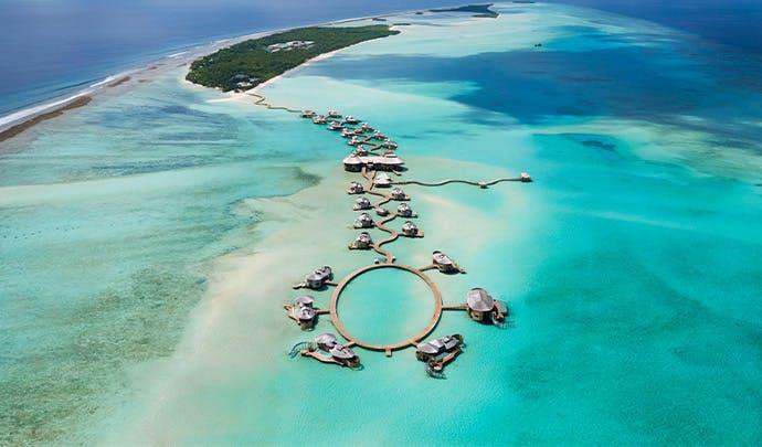 Luxury vacation: Maldives