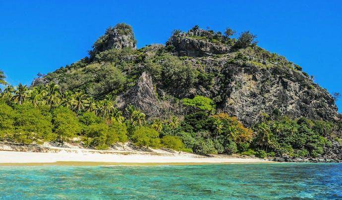 Castaway Island in Fiji