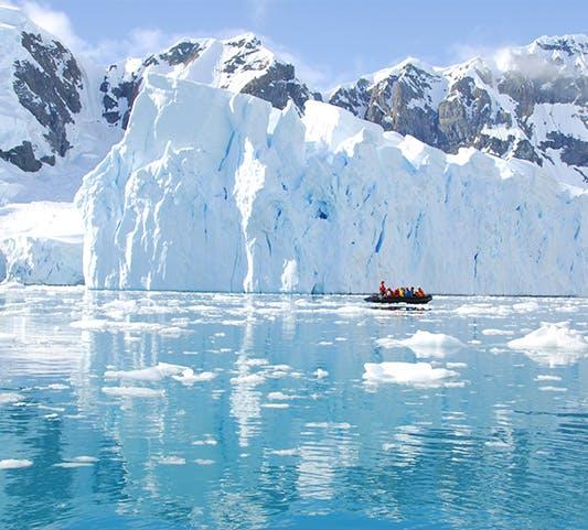 Antarctica RIB boat safari