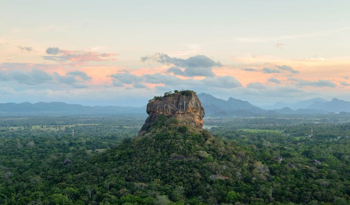 Explore Sri Lanka's Sigiriya rock