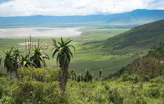 Ngorongo Crater, Tanzania