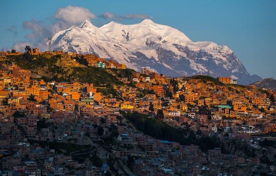 La Paz in Bolivia