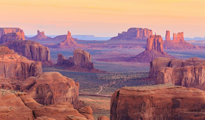 Hunts Mesa, Monument Valley, Arizona,