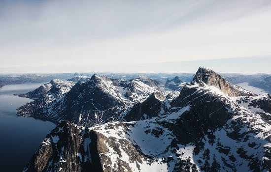 Greenland mountains
