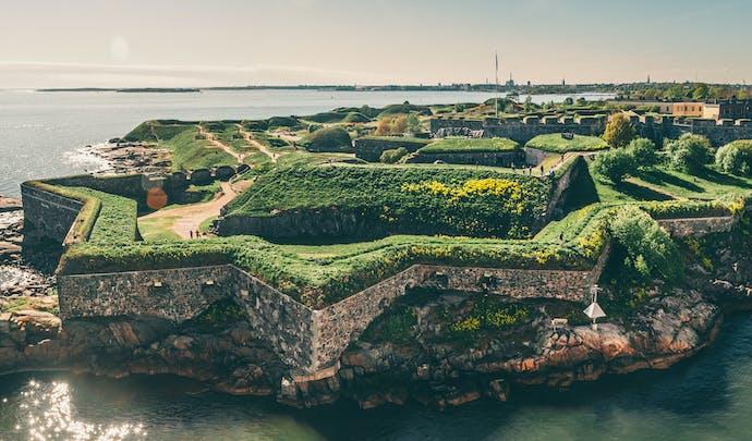 Finnish fortress Suomenlinna, Helsinki